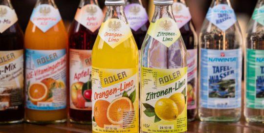 Adlerbräu Orangen-Limo